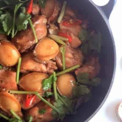 Cantonese Flavour Abalone Chicken Pot Recipe