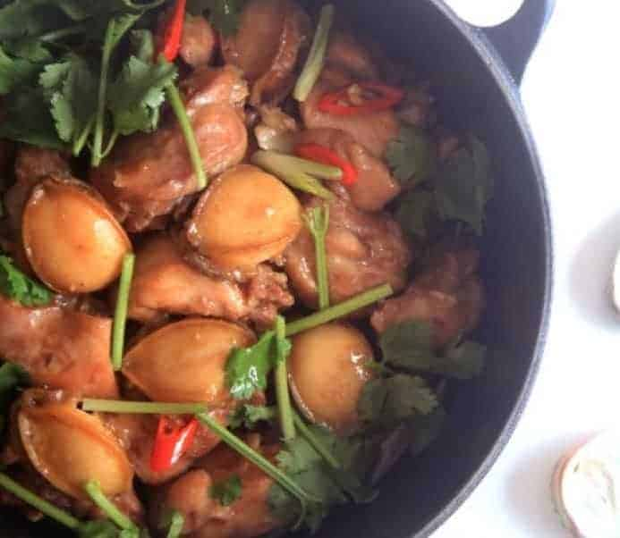Cantonese Flavour Abalone Chicken Pot Recipe