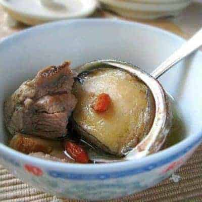 Chinese Abalone and Pok Ribs Soup