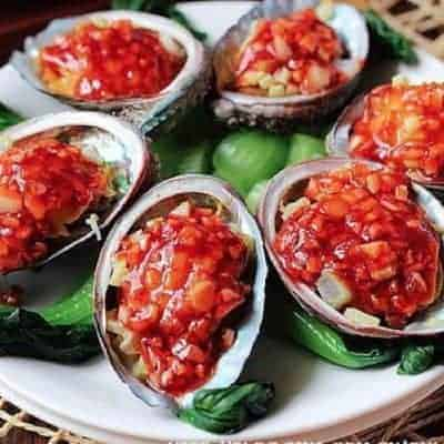 Chinese Braised Abalone in Tomato Sauce Recipe