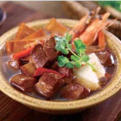 Chinese Pork Belly Hot Pot Base Recipe