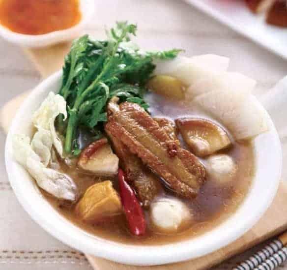 Chinese Pork Ribs Soup Hot Pot Base 1