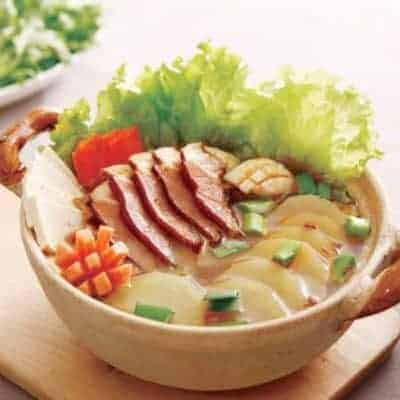 Chinese Salted Pork Hot Pot Base Recipe