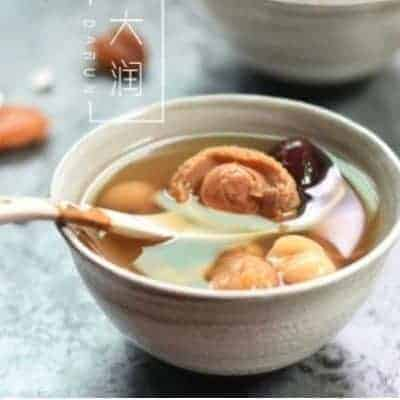 Stewed White Lotus and Figs with Abalone Soup 1