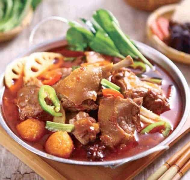 Beer braised Duck Hot Pot Recipe 1