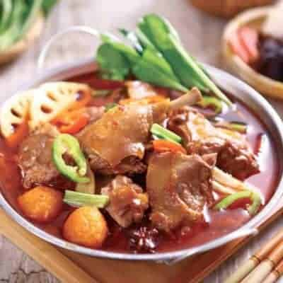 Beer braised Duck Hot Pot Recipe