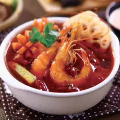 Chinese Spicy Shrimp Hot Pot Base Recipe