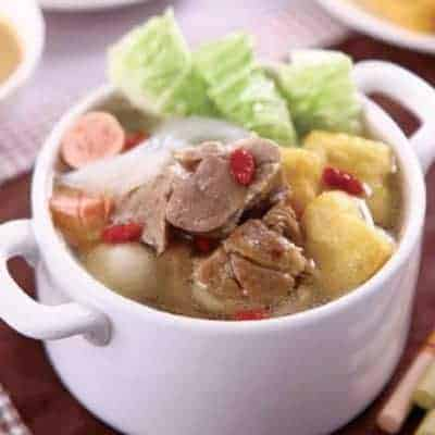 Chinese Stewed Lamb Hot Pot Recipe