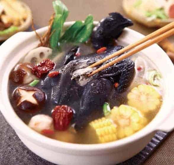 Herbal Cuisine Silkie Chicken Hot Pot Base 1