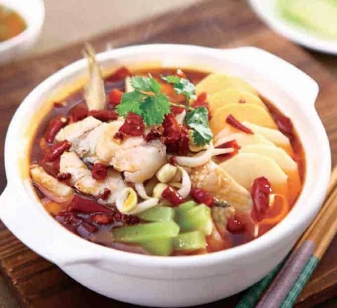 Hot Fish Filets Hot Pot Recipe