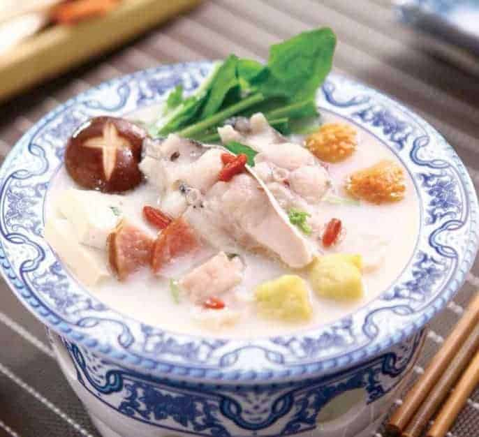 Milky Carp Fish Hot Pot Recipe