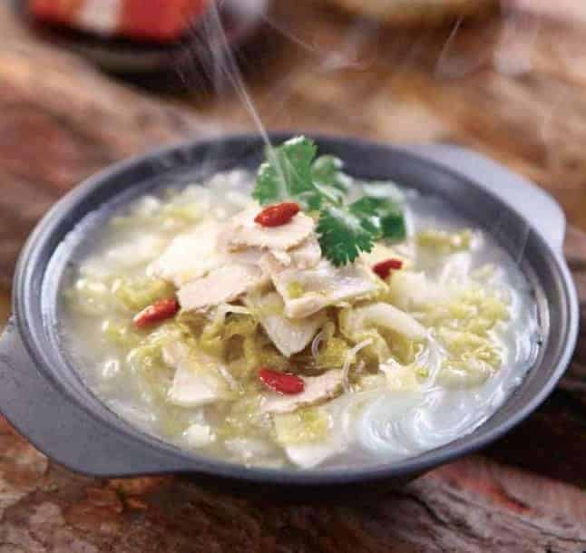 Pickled Cabbage Flavour Pork Soup Hot Pot Base Recipe 1