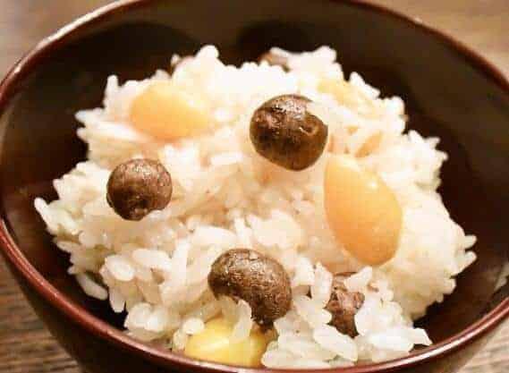 Ginkgo Nut Rice 1