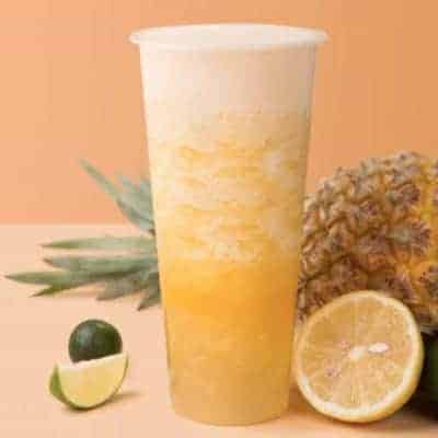 Golden Pineapple Oolong Fruit Tea Recipe