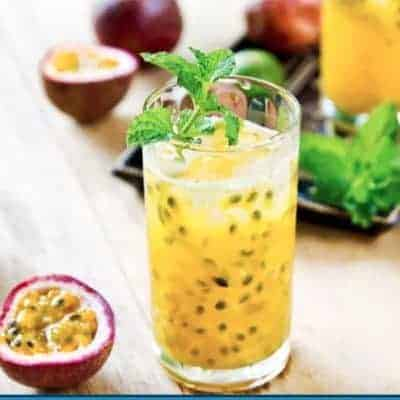 Mixed Passion Fruit With Oolong Tea Recipe