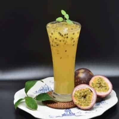 Passion Fruit With Green Tea Recipe