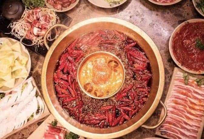 Traditional Sichuan Hot pot