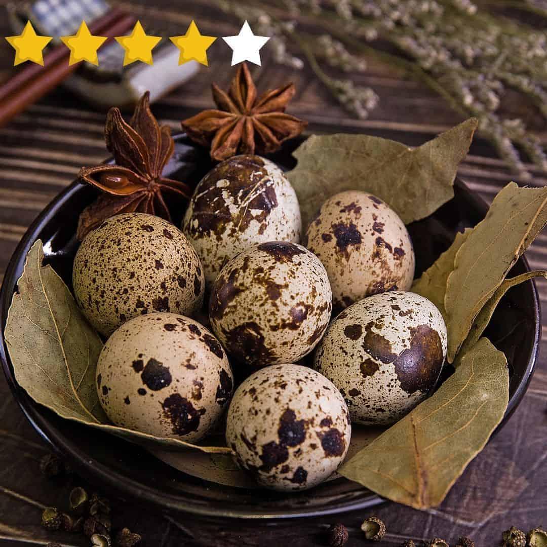 quail eggs taste review