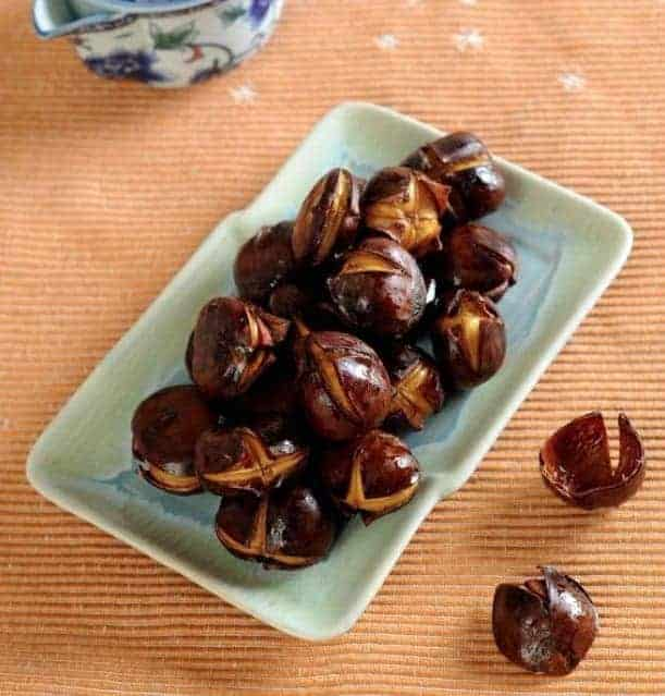 Chinese Fried Chestnuts With Honey Recipe