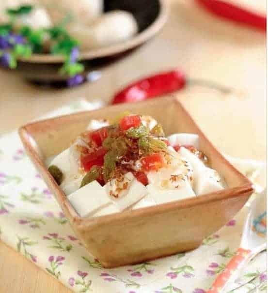 Sweet Almond Tofu Recipe