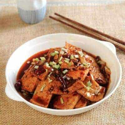 Chinese Hairy Tofu Recipe
