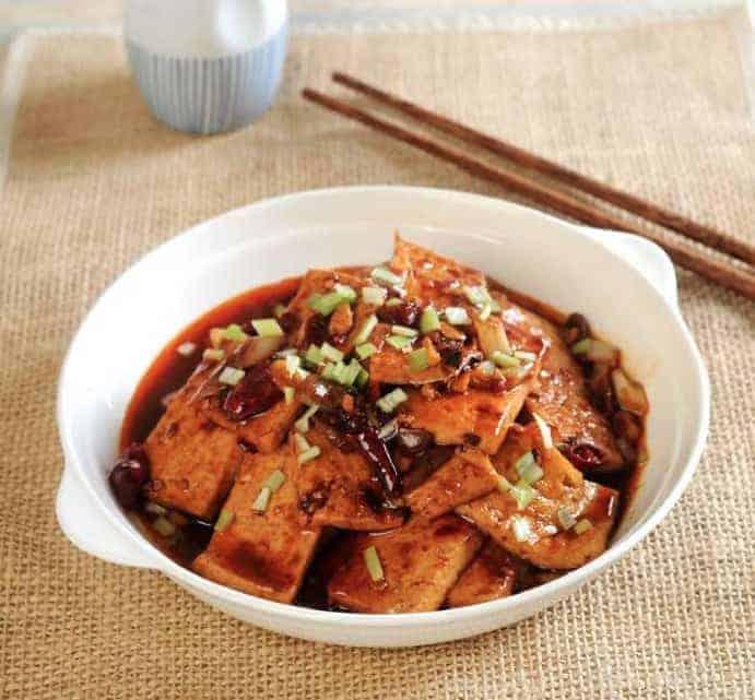 Chinese Hairy Tofu Recipe