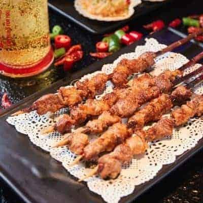 Chinese Mutton Shashlik Recipe