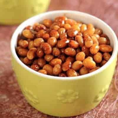 Five Spice Flavour Soybean Recipe