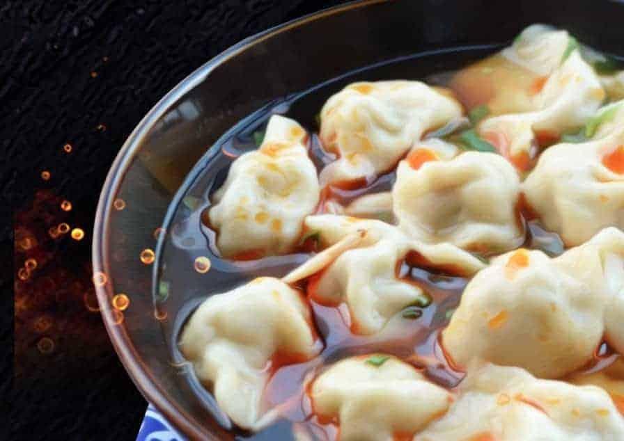 Mutton Dumpling with Sour Soup Recipe