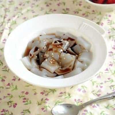 Brown Sugar Agar Agar Jelly Recipe