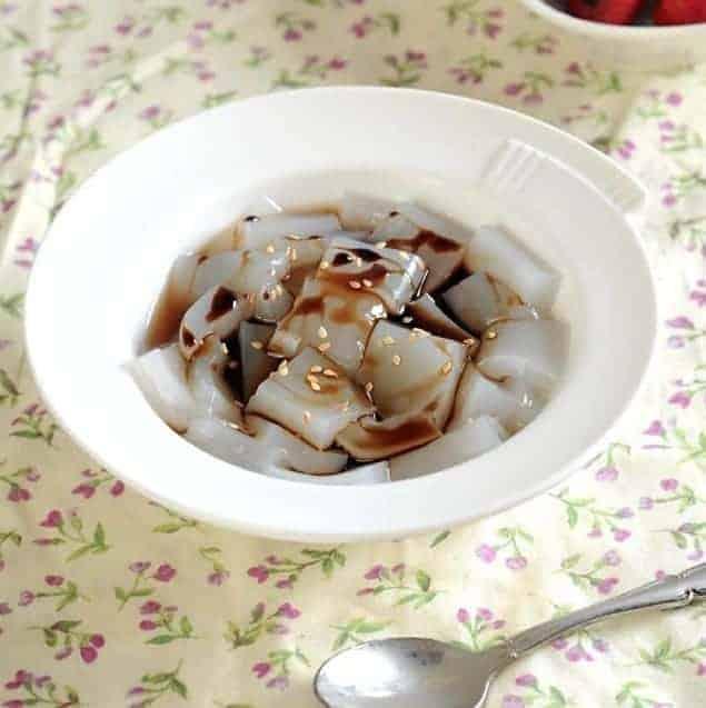 Brown Sugar Agar-Agar Jelly Recipe