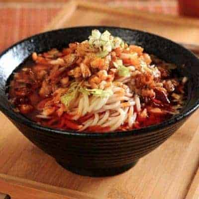 Chongqing Flavour Noodle Recipe