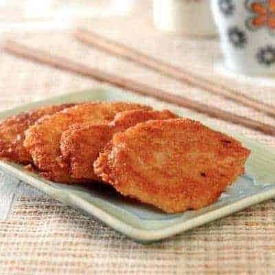Fried Glutinous Rice Cake Recipe