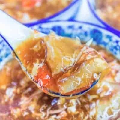 Imitation Shark's Fin Vermicelli Soup Recipe
