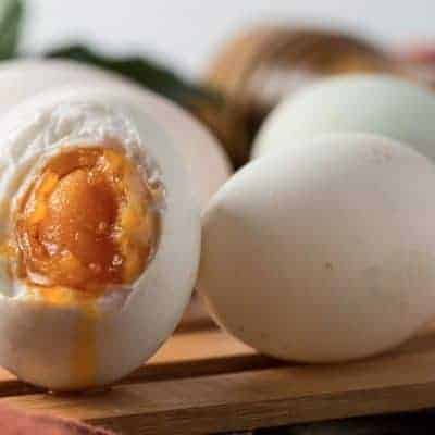 Salted Duck Eggs Recipe