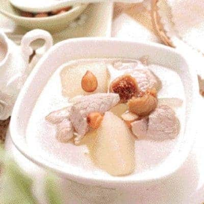 3 Step Apple Snow Pear Pork Soup Recipe