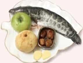 Apple Snow Pear Fish Soup Recipe step1