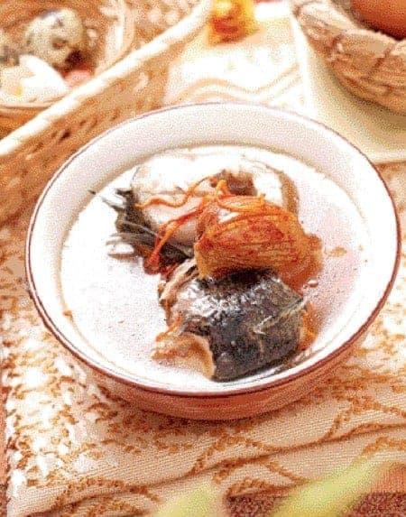 Cordyceps Flower and Polygonatum Fish Soup Recipe
