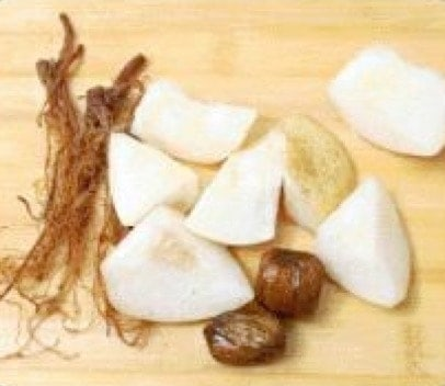Ginseng Root Snow Pear Black Chicken Soup Recipe step2