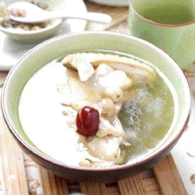 Hasma Lotus Seed Chicken Soup Recipe