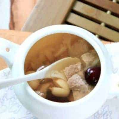 Lotus Seed and Lily Lean Pork Soup Recipe