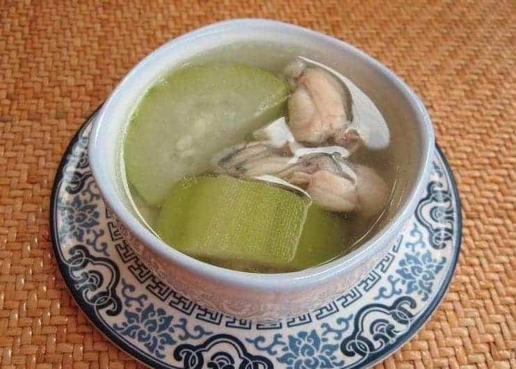 Luffa and Bean Sprout Frog Soup Recipe