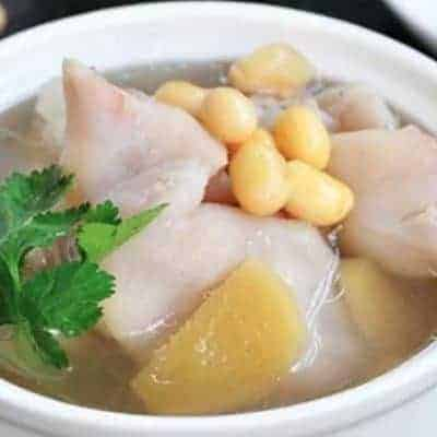 Soybean Pork Trotter Soup Recipe