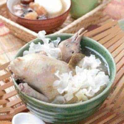 Stewed White Fungus Pigeon Soup Recipe
