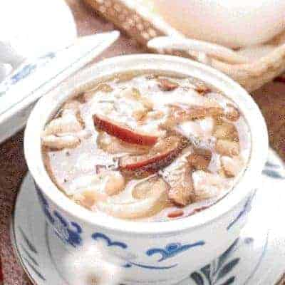 Bird's Nest With Chicken Soup Recipe