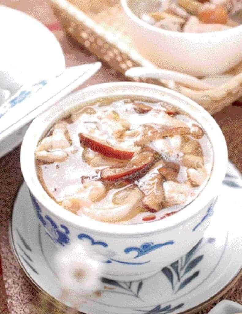 Bird's Nest With Chicken Soup Recipe