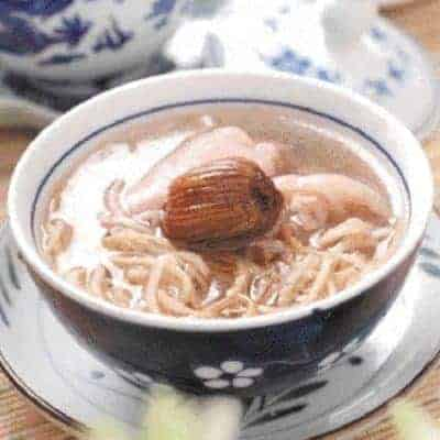 Dried Turnip Pork Trotter Soup Recipe