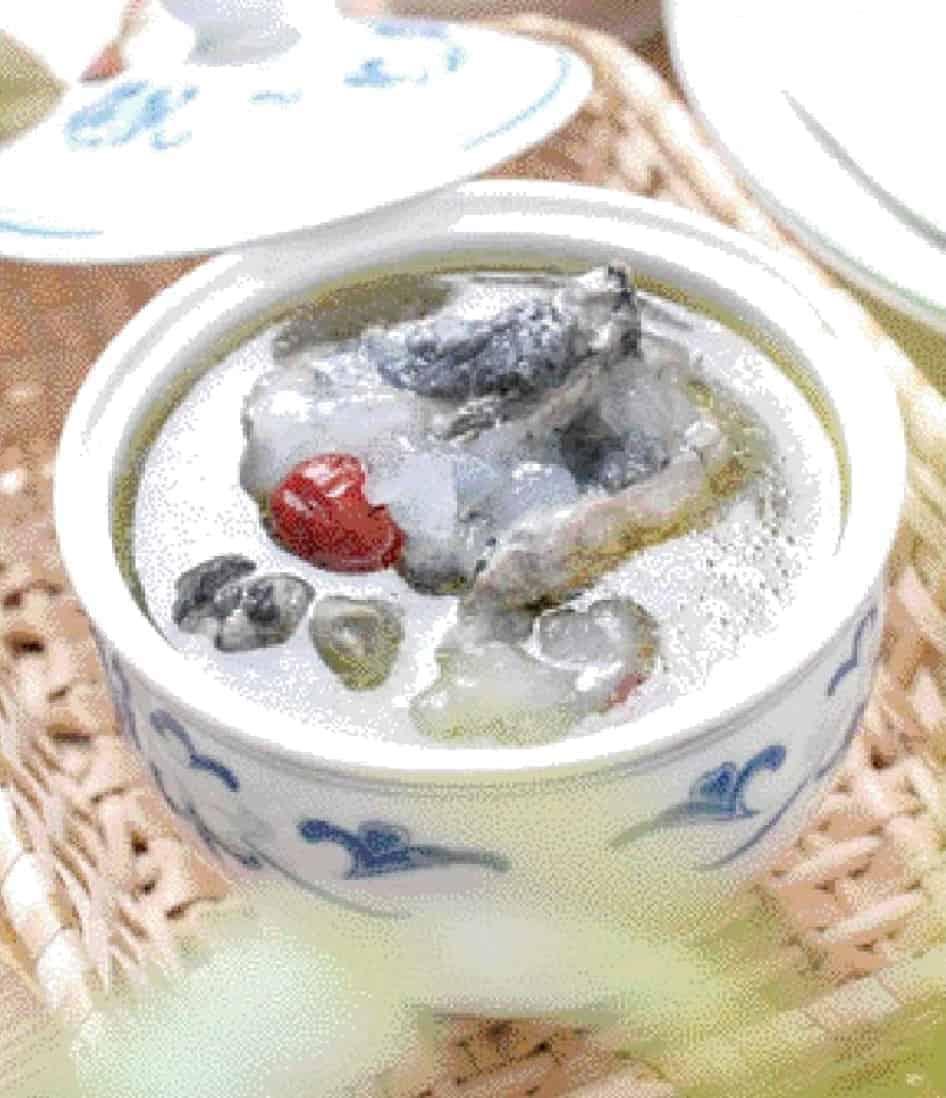 Hasma and Black Chicken Soup Recipe