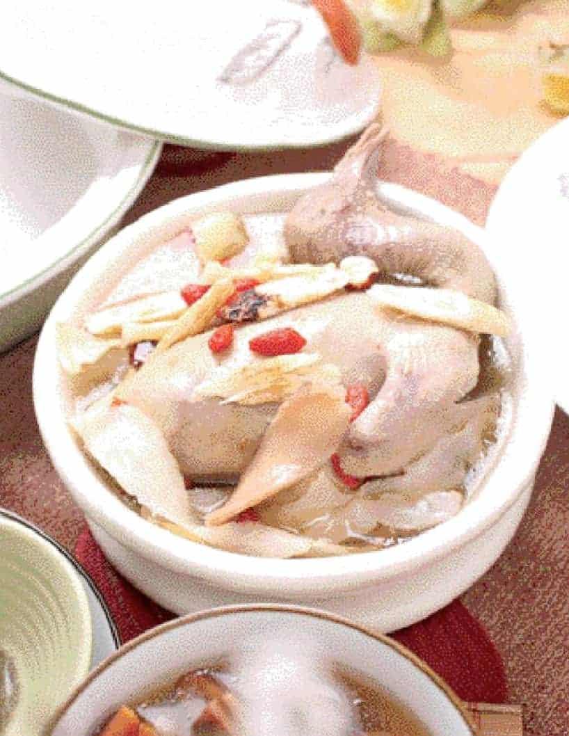 Herbal Pigeon Soup Recipe
