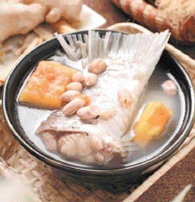 Pawpaw and Peanut Fish Tail Soup Recipe
